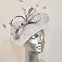 Mother of the Bride hat in Ice Blue 15582/SD764